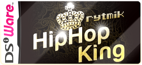 Rytmik Hip Hop King for Nintendo DSiWare: Pocket music station